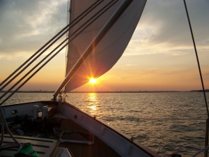 Sunset Sail, a gift from Joy and Steve